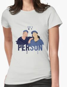My Person - Grey's Anatomy Womens Fitted T-Shirt