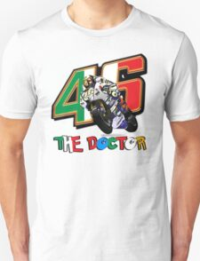 Valentino Rossi The Doctor 46 Logo T-Shirt