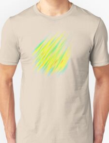 Colorful brush strokes Unisex T-Shirt