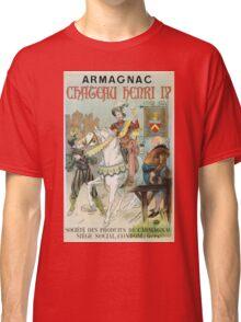 Vintage famous art - Poster - Armagnac Chateau Henry Iv  Classic T-Shirt