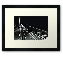 long exposure Framed Print