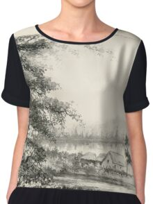 Southern wild flowers and trees together with shrubs vines Alice Lounsberry 1901 072 Cherokee Rose Chiffon Top