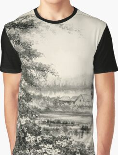 Southern wild flowers and trees together with shrubs vines Alice Lounsberry 1901 072 Cherokee Rose Graphic T-Shirt