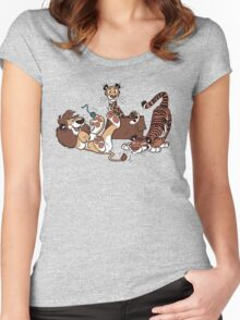 Big Cats Women's Fitted Scoop T-Shirt