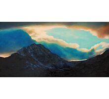 Snowdon view Photographic Print