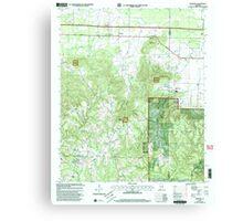 USGS TOPO Map Alabama AL Newburg 304677 2000 24000 Canvas Print