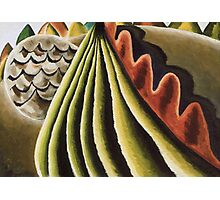 Vintage famous art - Arthur Garfield Dove - Fields Of Grain As Seen From Train Photographic Print