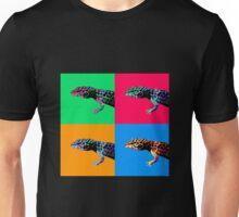 Warhol Gecko Unisex T-Shirt