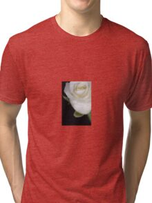 White Rose Tri-blend T-Shirt
