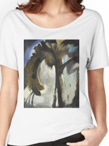 Vintage famous art - Arthur Garfield Dove - Yellow Blue And Violet Women's Relaxed Fit T-Shirt