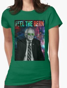 Bernie Sanders Meme Lord Womens Fitted T-Shirt