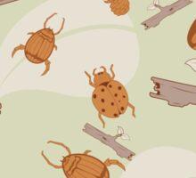 Beetles Sticker