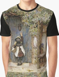 Vintage famous art - Arthur Hopkins - The Visitor  Graphic T-Shirt