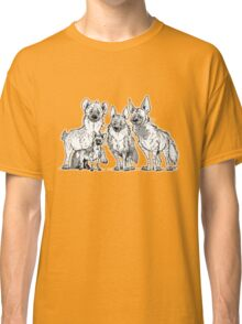 Hyenas - Two-toned Classic T-Shirt
