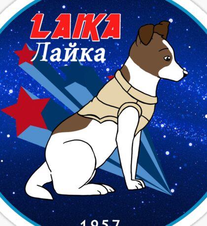 Laika Sticker