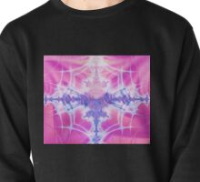 Cotton Candy Spider Web Pullover