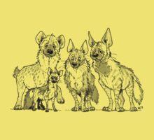 Hyenas - Light One Piece - Short Sleeve