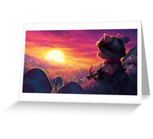 Teemo - Mushroom Grower Greeting Card