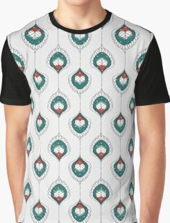 White Hearts Graphic T-Shirt