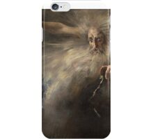 Vintage famous art - Artur José De Sousa Loureiro - Study For  The Spirit Of The New Moon  iPhone Case/Skin