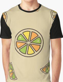 Citrus Pattern Graphic T-Shirt