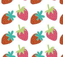 Strawberries by Sophie Higgins