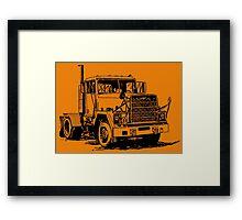 BIG TRUCK-3 Framed Print