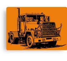 BIG TRUCK-3 Canvas Print