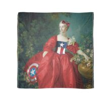 Lady Captain America, 18th Century Style Scarf