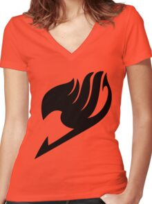 Fairy Tail Women's Fitted V-Neck T-Shirt