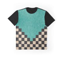 Andeska Teal Graphic T-Shirt