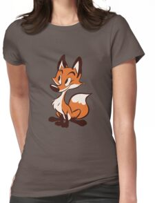 Vulpes vulpes Womens Fitted T-Shirt