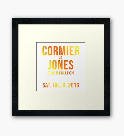 Jon Jones UFC 200 Framed Print