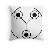 Simple Flux Capacitor Schematic Throw Pillow