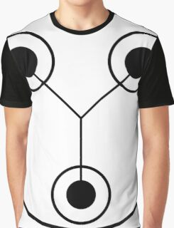 Simple Flux Capacitor Schematic Graphic T-Shirt