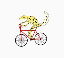 gecko with human limbs riding a bike Classic T-Shirt