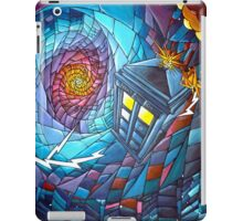 Tardis stained glass style  iPad Case/Skin