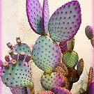 Purple Cactus by Dana Yoachum