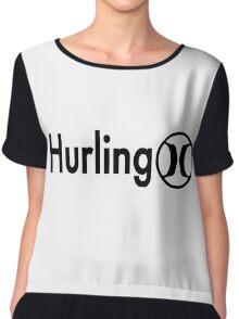 Hurling Chiffon Top