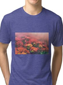 Fields of Warm Petals Tri-blend T-Shirt