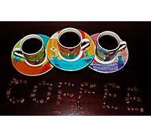 Coffee Is Served Photographic Print