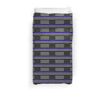 The Thin Blue Line Blessed Are the Peacemakers Duvet Cover
