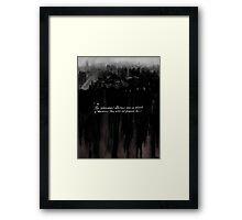 Altered, Dawn of the Modern Killer Framed Print
