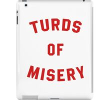 Turds of Misery - Breathable design iPad Case/Skin