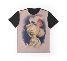 smoking girl Graphic T-Shirt