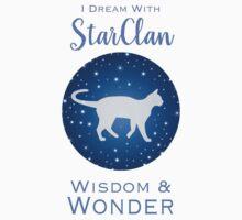 StarClan Dreams Kids Tee
