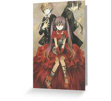 Pandora Hearts - Oz, Alice & Gilbert Greeting Card