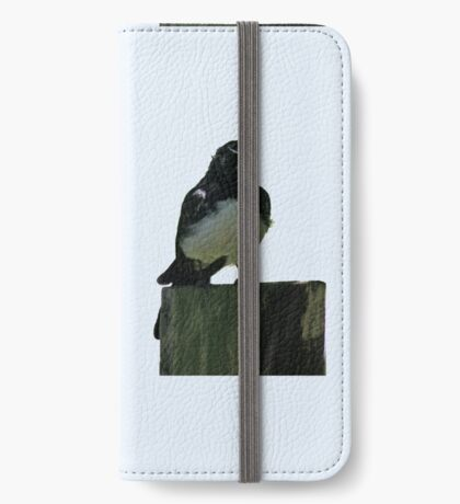 Willy Wagtail iPhone Wallet/Case/Skin