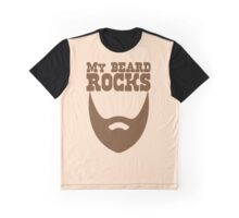 My beard rocks Graphic T-Shirt