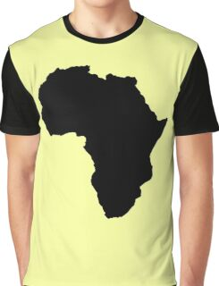 The continent of Africa map of African nation Graphic T-Shirt